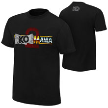 """Kevin Owens """"KO-Mania 2"""" Authentic T-Shirt"""