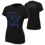 "Dean Ambrose ""This Lunatic Runs The Asylum"" Blue Women's Authentic T-Shirt"