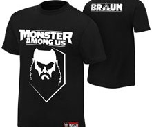 """Braun Strowman """"Monster Among Us"""" Youth Authentic T-Shirt"""