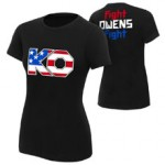 """Kevin Owens """"The New Face of America"""" Women's Authentic T-Shirt"""