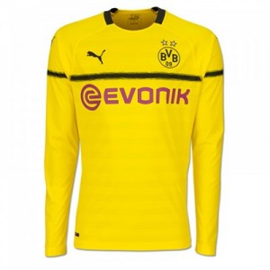 BVB Cup Home Shirt 2018-19 - Kids - Long Sleeve