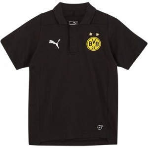 BVB Casuals Polo - Black - Kids