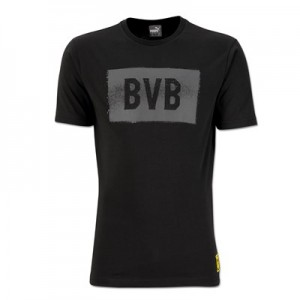 BVB Fan T-Shirt - Dark Grey - Womens