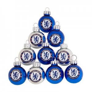 Chelsea Mini Pearlised Baubles - 10 Pack