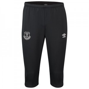 Everton Training 3/4 Knit Pants - Black