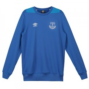 Everton Training Sweatshirt - Royal Blue - Kids