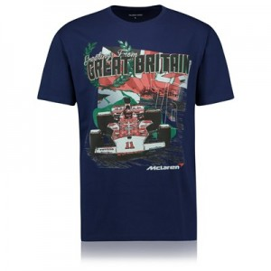 McLaren Greetings From Great Britain T-Shirt