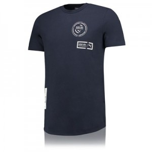 Red Bull Racing Lifestyle T-Shirt by PUMA - Navy