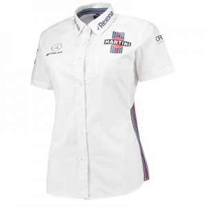 Williams Martini Racing 2018 Team Short Sleeve Shirt - Womens