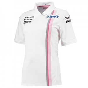 Sahara Force India 2018 Team Polo-Wht-Wmns