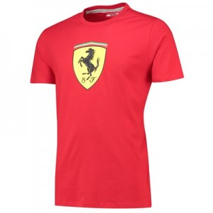 Scuderia Ferrari Essentials Classic T-Shirt - Red