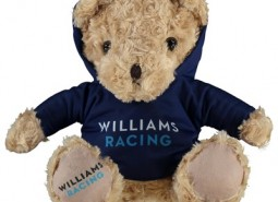 Williams Racing Traditional Bear with Hoody