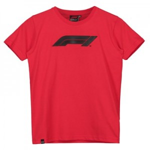 Formula 1 Essentials Logo T-Shirt - Red - Kids