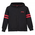 Formula 1 Essentials Twin Stripe Zip Thru Hoodie - Kids