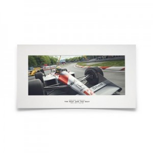 McLaren MP4/4 - Ayrton Senna The Best And The Rest - Small Print