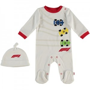 Formula 1 Sleepsuit & Hat Set