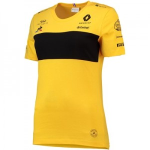 Renault F1 2018 Team Carlos Sainz T-Shirt - Womens