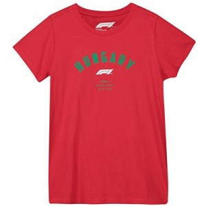 Formula 1 Hungarian Grand Prix 2018 Arch T-Shirt - Red - Womens
