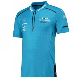 Williams Racing 2019 Team Performance Polo - Blue