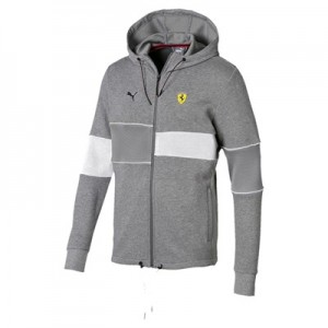 Scuderia Ferrari Hooded Sweat Jacket by Puma