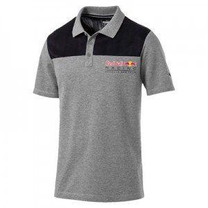 Aston Martin Logo Polo by Puma - Grey