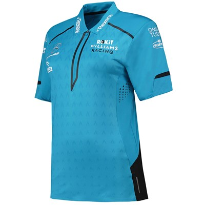 Williams Racing 2019 Team Performance Polo - Womens - Black
