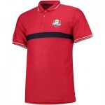The 2018 Ryder Cup USA Fanwear Cut & Sew Polo - Red