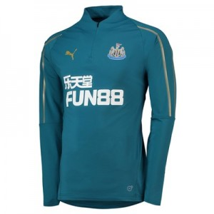 Newcastle United 1/4 Training Top - Green