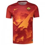 AS Roma Pre Match Training Top - Gold - Kids