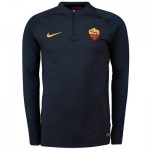 AS Roma Strike Training Drill Top - Navy - Kids