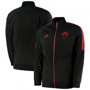 AS Roma I96 Track Jacket - Black
