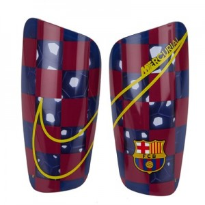 Barcelona Mercurial Lite Shinguard - Royal