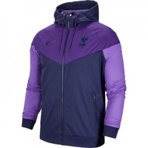 Tottenham Hotspur Authentic Woven Windrunner - Blue