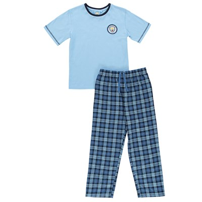 Manchester City Check PJ (2-13yrs)