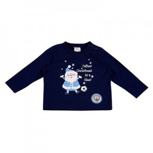Manchester City Santa T-Shirt -Baby/Infant