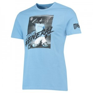 Manchester City Otamendi - The General T-Shirt - Sky - Mens