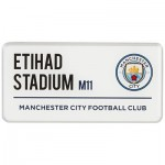 Manchester City Street Sign Magnet
