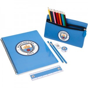 Manchester City Crest Ultimate Stationery Set