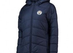 Manchester City Core Padded jacket - Navy - Womens