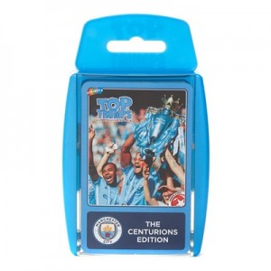 Manchester City Champions 2017-18 Top Trumps - Season Review  The Centurions Edition