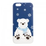 Manchester City Christmas Polar Bear iPhone 6-6S Phone Case