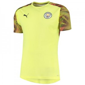 Manchester City UCL Training Jersey - Yellow