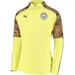 Manchester City UCL Training Fleece - Yellow
