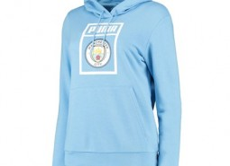 Manchester City Shoe Tag Hoody - Light Blue - Womens