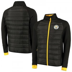 Manchester City Mid Layer - Black - Mens