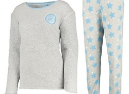 Manchester City Snuggle Top and Lounge Pant - Grey - Womens