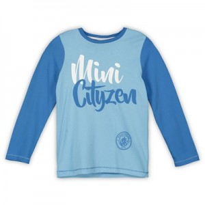 Manchester City LS Mini Cityzen Pyjama Set - Blue - Boys
