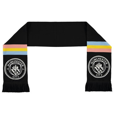 Manchester City Away Scarf 19/20 - Black - Adult