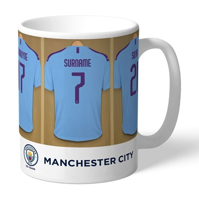 Manchester City Dressing Room Mug