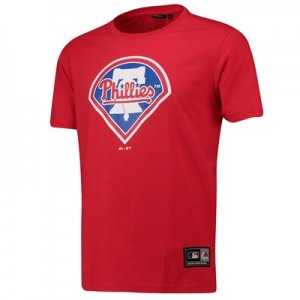 Philadelphia Phillies Prism T-Shirt - Red - Mens